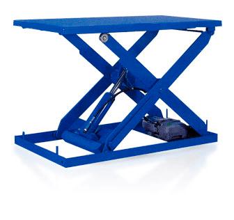 Неподвижные подъемные столы